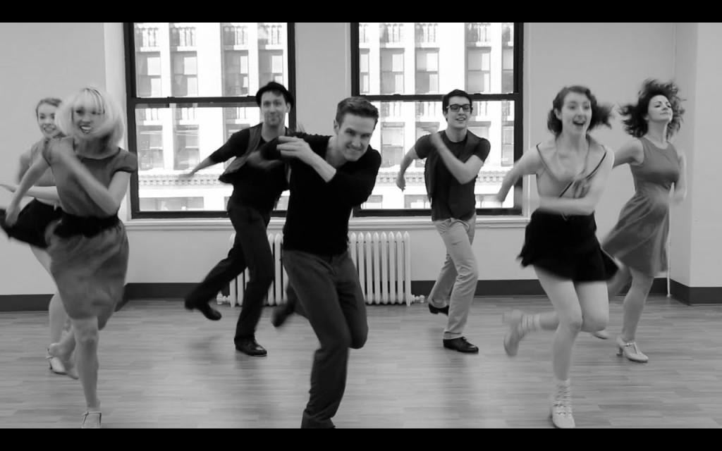 Broadway Dancers Tap Dance 'Cups (When I'm Gone)' [VIDEO