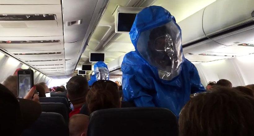 us airways ebola scare