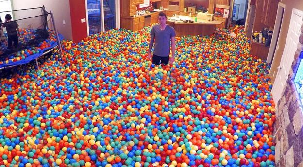 ball pit prank