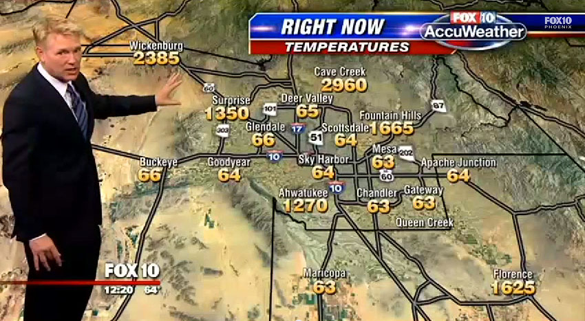 phoenix weather error