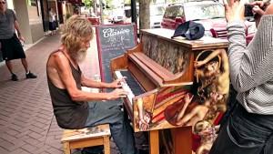 homeless pianist