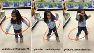 hula hooping hailey