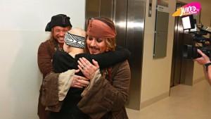 jack sparrow visits hospital
