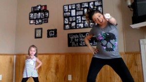 living room dance party